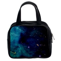 Space Classic Handbags (2 Sides) by Brittlevirginclothing