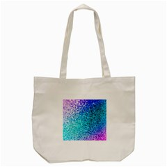 Rainbow Sparkles Tote Bag (cream) by Brittlevirginclothing