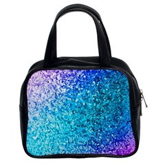 Rainbow Sparkles Classic Handbags (2 Sides) by Brittlevirginclothing