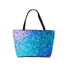 Rainbow Sparkles Shoulder Handbags by Brittlevirginclothing