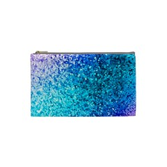 Rainbow Sparkles Cosmetic Bag (small)  by Brittlevirginclothing