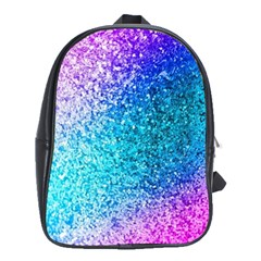 Rainbow Sparkles School Bags (xl)  by Brittlevirginclothing