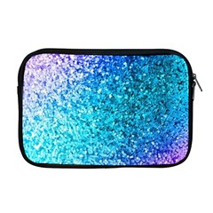 Rainbow Sparkles Apple Macbook Pro 17  Zipper Case by Brittlevirginclothing