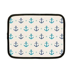 Sailor Anchor Netbook Case (small)  by Brittlevirginclothing