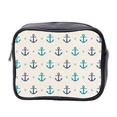 Sailor Anchor Mini Toiletries Bag 2 Side by Brittlevirginclothing