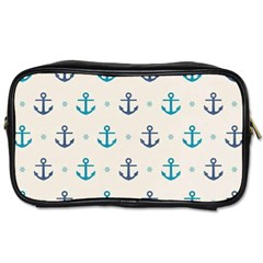 Sailor Anchor Toiletries Bags by Brittlevirginclothing