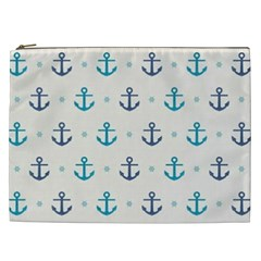 Sailor Anchor Cosmetic Bag (xxl)  by Brittlevirginclothing