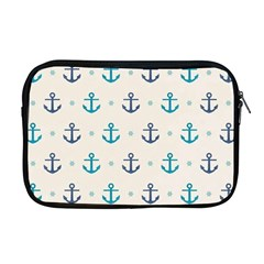 Sailor Anchor Apple Macbook Pro 17  Zipper Case by Brittlevirginclothing