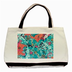 Map Basic Tote Bag by Brittlevirginclothing