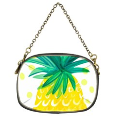 Cute Pineapple Chain Purses (two Sides)  by Brittlevirginclothing