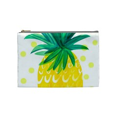 Cute Pineapple Cosmetic Bag (medium)  by Brittlevirginclothing