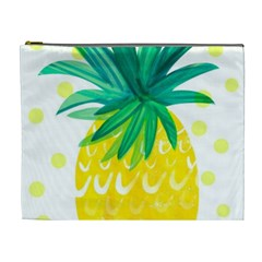 Cute Pineapple Cosmetic Bag (xl) by Brittlevirginclothing