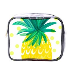 Cute Pineapple Mini Toiletries Bags by Brittlevirginclothing