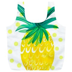 Cute Pineapple Full Print Recycle Bags (l)  by Brittlevirginclothing