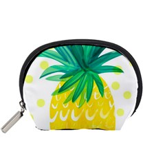 Cute Pineapple Accessory Pouches (small)  by Brittlevirginclothing
