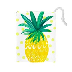 Cute Pineapple Drawstring Pouches (large)