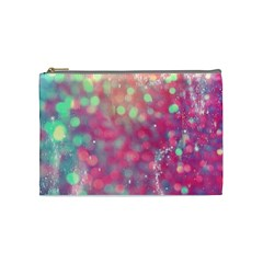 Fantasy Sparkle Cosmetic Bag (medium)  by Brittlevirginclothing