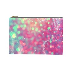 Fantasy Sparkle Cosmetic Bag (large)  by Brittlevirginclothing