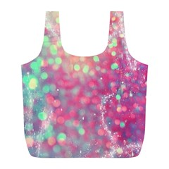 Fantasy Sparkle Full Print Recycle Bags (l)  by Brittlevirginclothing