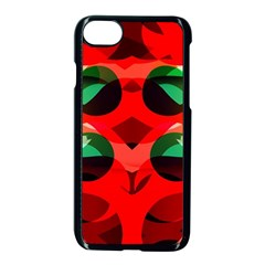 Abstract Digital Design Apple Iphone 7 Seamless Case (black)