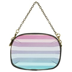 Colorful Horizontal Lines Chain Purses (one Side)  by Brittlevirginclothing