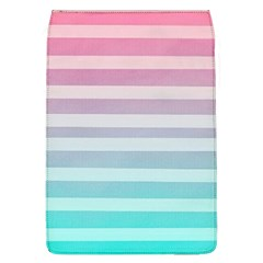 Colorful Horizontal Lines Flap Covers (l)  by Brittlevirginclothing