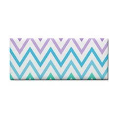 Colorful Wavy Lines Cosmetic Storage Cases by Brittlevirginclothing