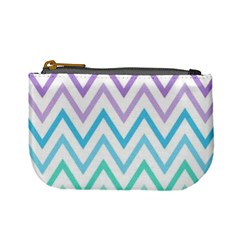 Colorful Wavy Lines Mini Coin Purses by Brittlevirginclothing