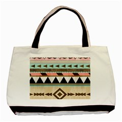 Colorful Bohemian Basic Tote Bag by Brittlevirginclothing