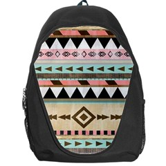 Colorful Bohemian Backpack Bag by Brittlevirginclothing