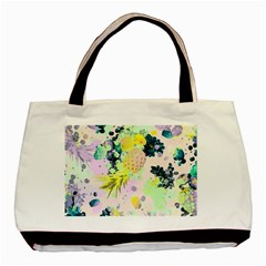 Paint Basic Tote Bag (two Sides) by Brittlevirginclothing