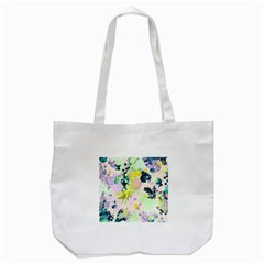 Paint Tote Bag (white) by Brittlevirginclothing