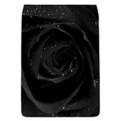Black Rose Flap Covers (l)  by Brittlevirginclothing