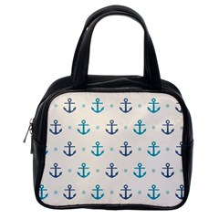 Sailor Anchor Classic Handbags (one Side) by Brittlevirginclothing