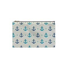 Sailor Anchor Cosmetic Bag (small)  by Brittlevirginclothing