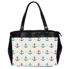Sailor Anchor Office Handbags (2 Sides)  by Brittlevirginclothing