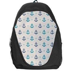 Sailor Anchor Backpack Bag by Brittlevirginclothing