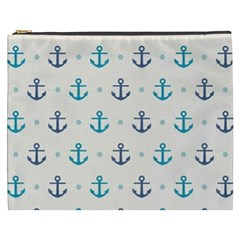Sailor Anchor Cosmetic Bag (xxxl)  by Brittlevirginclothing
