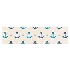 Sailor Anchor Satin Scarf (oblong) by Brittlevirginclothing