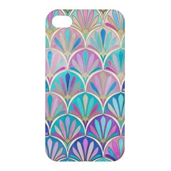 Colorful Sea Shell Apple Iphone 4/4s Premium Hardshell Case by Brittlevirginclothing