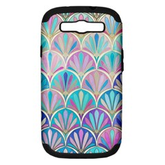 Colorful Sea Shell Samsung Galaxy S Iii Hardshell Case (pc+silicone) by Brittlevirginclothing