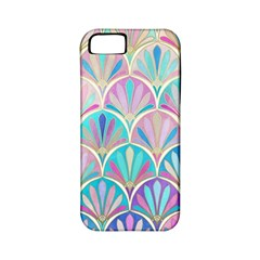 Colorful Sea Shell Apple Iphone 5 Classic Hardshell Case (pc+silicone)