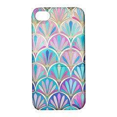 Colorful Sea Shell Apple Iphone 4/4s Hardshell Case With Stand by Brittlevirginclothing