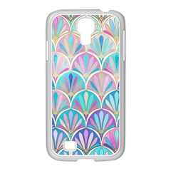 Colorful Sea Shell Samsung Galaxy S4 I9500/ I9505 Case (white) by Brittlevirginclothing