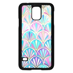 Colorful Sea Shell Samsung Galaxy S5 Case (black) by Brittlevirginclothing