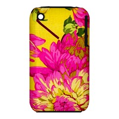 Colorful Pink Flower Iphone 3s/3gs by Brittlevirginclothing