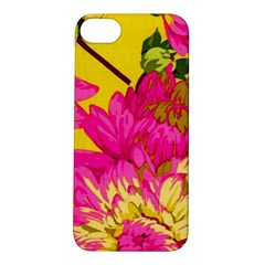 Colorful Pink Flower Apple Iphone 5s/ Se Hardshell Case