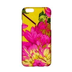 Colorful Pink Flower Apple Iphone 6/6s Hardshell Case by Brittlevirginclothing