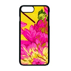 Colorful Pink Flower Apple Iphone 7 Plus Seamless Case (black) by Brittlevirginclothing