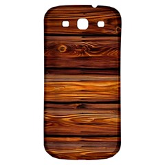 Wood Samsung Galaxy S3 S Iii Classic Hardshell Back Case by Brittlevirginclothing